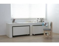 Speeltafel/ tv -dressoir Mayflower Home Salon, Organize Your Life, Room Rugs, Kid Spaces, Kid Beds, Home And Living, Living Room, Diy For Kids, Bowser