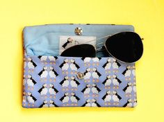 Your place to buy and sell all things handmade Bird Design, Print Design, Going On Holiday, Uk Shop, Printing On Fabric, Sunglasses Case, How To Draw Hands, Coin Purse, Pouch