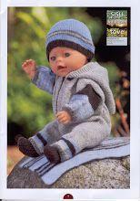 Album Archive - Dukketøj til Baby Born 2 - Ingelise Baby Born Clothes, Preemie Clothes, Knitting Dolls Clothes, Girl Doll Clothes, Doll Clothes Patterns, Knitted Doll Patterns, Knitted Dolls, Baby Knitting Patterns, Reborn Dolls
