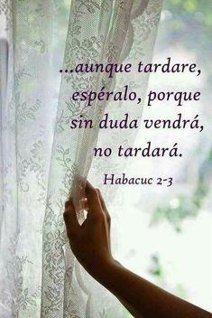La palabra de Dios se cumple en su tiempo no en el nuestro!!