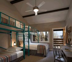 Bunk Bed Rooms, Bunk Beds, Tahoe City California, Boys Bedroom Sets, Hospitality Design, Home Decor, Family Rooms, Community, Bath