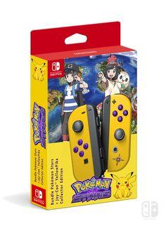 Bundle Pokémon Stars Nintendo Joy-Con Collector Nintendo Switch (A Switch Me fan art). If U like it, follow me on Twitter : @switchmelike ! joycon, nintendo switch, dock, joy-con, Joy-Con Strap