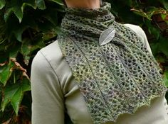 Tudor Grace . This would be pretty with the Habu yarn. L