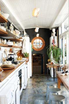 True Galley Kitchen