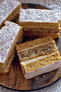 Polish Recipes, Polish Food, Honey Cake, Cookie Bars, Christmas Baking, Sugar Cookies, Tiramisu, Good Food, Dessert Recipes
