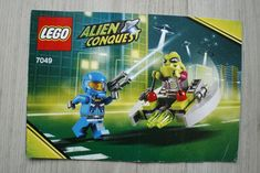 Pre-Owned Complete Lego 7049 Alien Conquest Alien Striker ages 42 pieces Lego Disney, Disney Marvel, Lego Instruction Books, Lego Minifigs, Rey Star Wars, Lego Super Heroes, Space Theme, Lego Instructions, Lego Movie