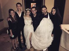 Andy and JulietSimms wedding Black Veil Brides Andy, Bvb Fan, Bryan Stars, Hollywood Undead, Andy Black, Falling In Reverse, Of Mice And Men, Andy Biersack, Wedding Pinterest