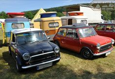 Tuck In Time Miniacs & we close the Towin Tuesday show with a stunning pair of Innocenti Coopers and their perfect Puck partners! Goodnight folks