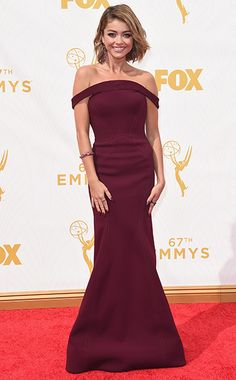 Sarah Hyland - Emmy Awards 2015 - Red Carpet Arrivals