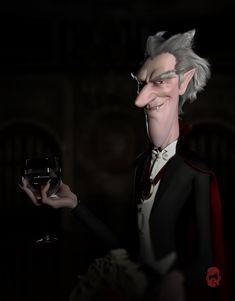 ArtStation - Dracula, Matt Thorup