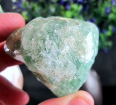 Green #Agate #Natural Large #Raw #Stone for 140g #Healing Crystals & Collection