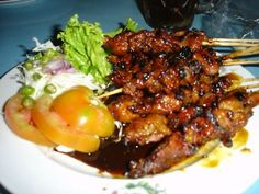sate ~ Indonesia  Obama favorite food