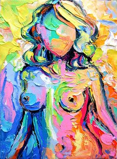 Femme 111, etsy seller sagittarius gallery that is one colorful nude