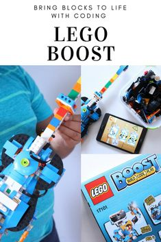 Bring Blocks To Life With Coding | LEGO BOOST Review #ad #BUILDwithBOOST