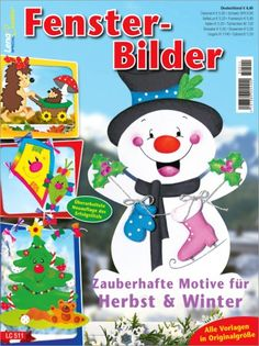 OZ Verlag Magazine Crafts, Magazines For Kids, Tole Painting, Fall Diy, Decoration, Smurfs, Snowman, Minnie Mouse, Crafts For Kids