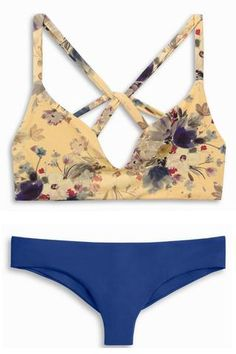 Boys and Arrows Dylan Top Pretty Little Thang and Clairee Bottom Deep | Mango Molli Swimwear