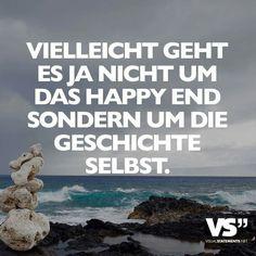 vielleicht geht es ja nicht um das happy end...#VisualStatement
