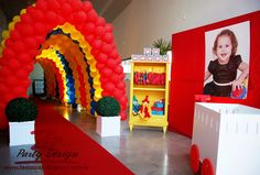 zap festa: Festa circo menina