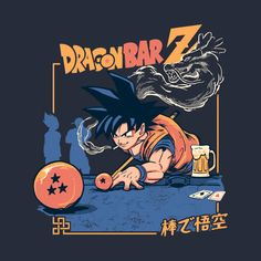 Shop Dragon Bar Z cartoons t-shirts designed by as well as other cartoons merchandise at TeePublic. Japon Illustration, Retro Illustration, Character Illustration, Dragon Z, Dragon Ball Z, Small Dragon Tattoos, Cartoon Crossovers, Naruto Wallpaper, Graphic Design Inspiration