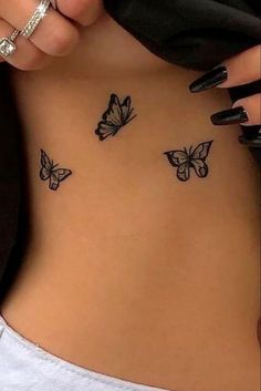Ewigkeits Tattoo, Smal Tattoo, Piercing Tattoo, Piercings, Side Boob Tattoo, Classy Tattoos, Dainty Tattoos, Pretty Tattoos, Girly Tattoos