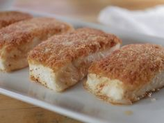 Pan-Seared Crispy Halibut with Homemade Tartar Sauce : Recipes : Cooking Channel Sauce Recipes, Fish Recipes, Seafood Recipes, Seafood Meals, Easy Cooking, Cooking Recipes, Cooking Bacon, Cooking Games, Cooking Channel Shows