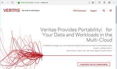 Veritas: Neue Produkte lösen die größten Probleme in der Multi-Cloud