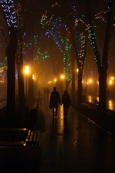 walks through the city :)  talking, and him kissing me out of no where