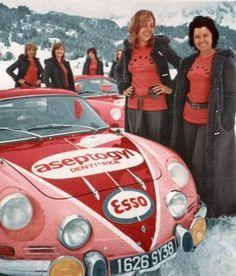 Team Aseptogyl Rally livery