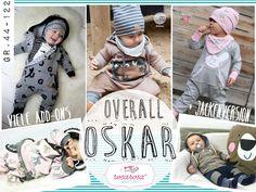 Oskar ♥ Overall von Gr. 44 bis 122