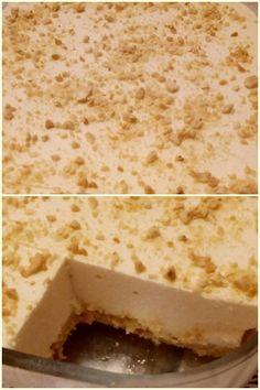 Λεμονογλυκό με βάση μπισκότου !!! ~ ΜΑΓΕΙΡΙΚΗ ΚΑΙ ΣΥΝΤΑΓΕΣ 2 Greek Desserts, Lemon Recipes, Vanilla Cake, Sweet Tooth, Food And Drink, Sweets, Bread, Sweet Sweet, Brot