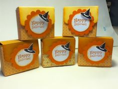 Halloween Ghirardelli boxes by miss - Cards and Paper Crafts at Splitcoaststampers