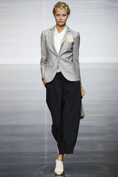 Emporio Armani Spring/Summer 2014 Ready-To-Wear | British Vogue