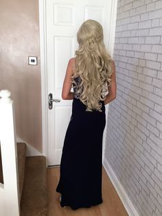 loose curls, for prom!