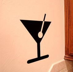 Martini - Vinyl Wall Decal - VinylMill