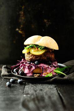 ... jalapeno blueberry sauce beef burgers ...