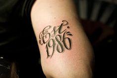 est 1994 tattoo designs - photo #3