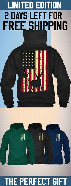 Hunting American Shirt - Get this limited edition ugly Christmas Sweater just in time for the holidays! Only 2 days left for FREE SHIPPING, click to buy now!