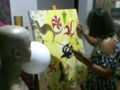 Pintando... 2014 patricia Benevides Fontinelli