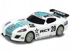 The Scalextric GT Lightning White has a super crash resistant body and is part of the Scalextric Street Car Range.