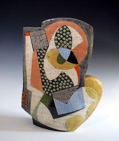 Sheryl Zacharia. Ceramic sculpture. New York Spring Dream.