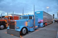 Thanks and all credits to William Pealy who shared this photo with us Big Rig Trucks, Show Trucks, Peterbilt 379, Peterbilt Trucks, Custom Big Rigs, Custom Trucks, Diesel, Camper, Train Truck