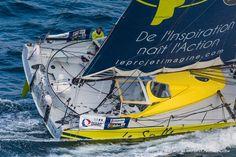 Thomas Ruyant a réussi à sauver son bateau sur le Vendée Globe