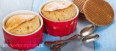 stroopwafel souffle - http://www.leukerecepten.nl/recepten/190-stroopwafel-souffle