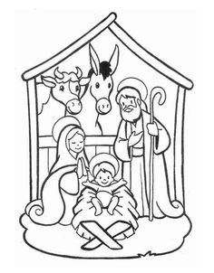 Printable Christmas Jesus in the manger coloring pages – Printable Coloring Pages For Kids Make your world more colorful with free printable coloring pages from italks. Our free coloring pages for adults and kids. Christmas Jesus, Preschool Christmas, Christmas Nativity, Christmas Crafts For Kids, Xmas Crafts, Christmas Printables, Christmas Colors, Kids Christmas, Christmas Ornament