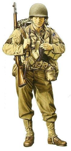 Soldado americano, Oran 1943.