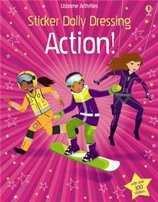 NEW FOR JUNE 2013 Sticker Dolly Dressing: Action!