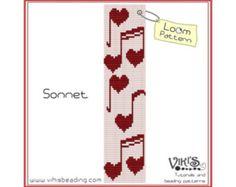 Loom Bracelet Pattern: Vivid Imagination  INSTANT DOWNLOAD