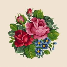 1 million+ Stunning Free Images to Use Anywhere Victorian Flowers, Vintage Roses, Simple Cross Stitch, Cross Stitch Rose, Cross Stitch Flowers, Hardanger Embroidery, Cross Stitch Embroidery, Cross Stitch Patterns, Victorian Cross Stitch