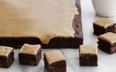 Espresso Brownies by Giada De Laurentiis (Chocolate) @FoodNetwork_UK Jazz up your favourite brownie mix (or recipe!) with a shot of espresso.