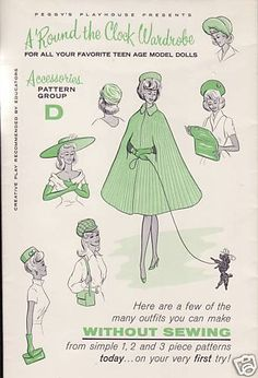 Vintage Barbie Patterns